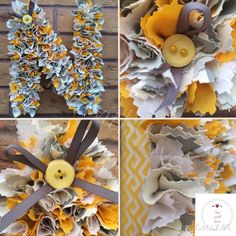 Large material letters #htlmp #handmadeuk #materialletters www.facebook.com/tiedwithlovewreaths