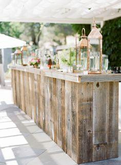 Wedding bar: http://www.stylemepretty.com/2015/08/25/romantic-berry-pink-sonoma-wedding/ | Photography: Josh Gruetzmacher - http://www.joshgruetzmacher.com/