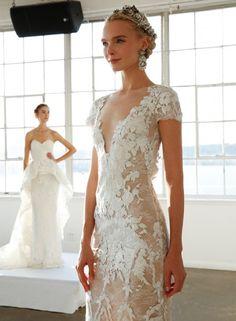 21 Wedding Dresses From Bridal Fashion Week 2016 That Impress - Weddingomania