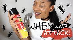 DIY LAST MINUTE HALLOWEEN COSTUME | WHEN ANTS ATTACK!  Modernbanks - YouTube   #diy #halloweencostume #halloween