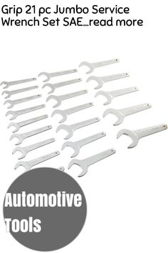 (This is an affiliate pin) Grip 21 pc Jumbo Service Wrench Set SAE Wrench Set, Automotive Tools, 21st