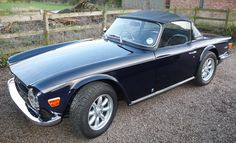 My TR6 CP Photo at last (I hope) - TR6 Forum - TR Register Forum
