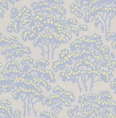 Farrow & Ball Hornbeam Pale Blue Wallpaper main image