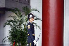 Sentry at Sun Yatsen Memorial Hall. #Taipei #Taiwan #Travel