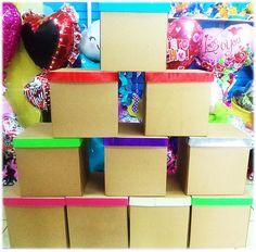 #Cajas de #Cartón para tus empaques o regalos  Seguimos siendo tu mejor #Opción!!