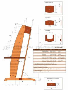 Wooden High Chair Plans - Children's Furniture Plans