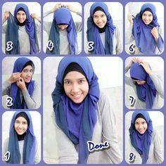 hijab tutorial more hijabs stylez hijab tutorials effortless ...