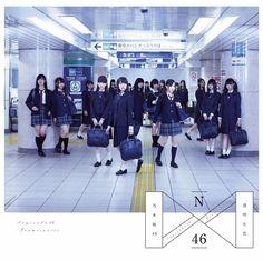 乃木坂46 1stAlbumジャケットat東京メトロ