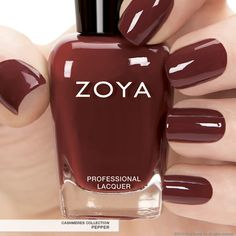 First Look: Zoya Nail Polish in Pepper - Fall 2013 Edition