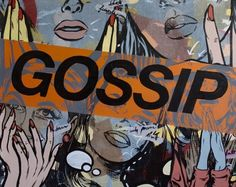Pop Art Gossiping - Dan Monteavaro   Crie seu quadro com essa imagem https://www.onthewall.com.br/ilustracao/pop-art-gossiping #quadro #canvas #moldura #popart #decor