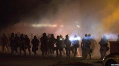 Missouri: State police take charge in Ferguson  15 August 2014 Last updated at 14:01 BST