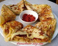 galette kabyle / recette de kesra farcie | recette