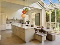 elegant hand painted kitchen with marble top