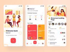 Task Management Apps designed by Desemy Kristanto for Pixelz Studio. Connect with them on Dribbble; Ios 7 Design, Ui Design Mobile, Dashboard Design, Design Design, Software Apps, Website Design Layout, App Design Inspiration, Ui Ux, Don't Forget