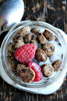 homemade cookie crisp cereal heathersfrenchpress.com #cereal #breakfaast