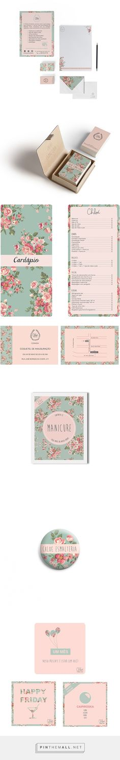 Chloé Esmalteria Beauty Salon Branding by Mozg Design | Fivestar Branding Agency – Design and Branding Agency & Curated Inspiration Gallery