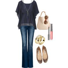 Casual date, created on Polyvore