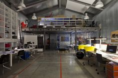Milan Design Week 2013: Office for Living / Jean Nouvel.    Dare I say:   Sew Room