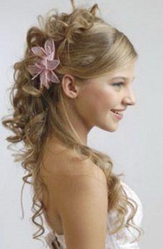 Peinados semirecogidos para fiestas