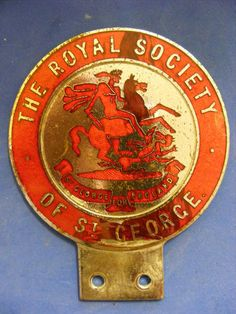 1950's Royal Society of St.George