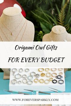 Origami Owl Gifts for Every Budget