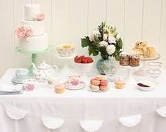 Featured on Heart Handmade UK: Vintage Tea Party Table Styling inspiration from Cake Ink Mother's Day Afternoon Tea, Cake Stall, Tea Party Table, Dessert Buffet, Dessert Tables, Buffet Tables, Brunch Buffet, Dessert Ideas, Tea Party Birthday