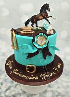 13th Birthday, Birthday Cake, Birthday Ideas, Graham Cake, French Cake, Horse Cake, Raw Desserts, Cake Flavors, Snack