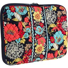 I don't have a laptop sleeve from Vera Bradley yet!  This is a fun pattern that I might try! When I find out which one it is!
