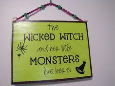 Vinyl Halloween Sign