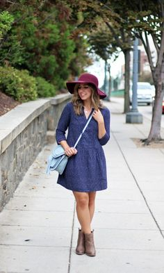 Fall Transition Outfit from Old Navy via Glassofglam.com