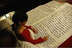 book blanket OMG!