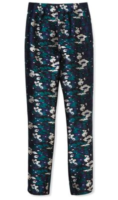 Opening Ceremony  Floral Jacquard Fitted Pant