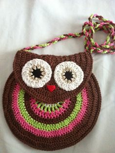 My World...: Owl Purse free pattern and master class .