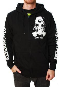 Metal Mulisha Men's Survival Fleece Full Zip Hoodie