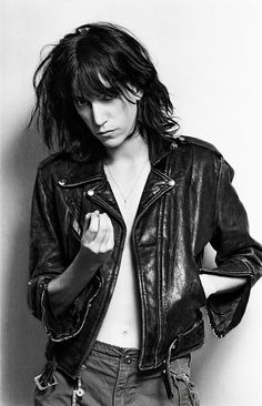Lynn Goldsmith: Patti Smith, 1976. ""