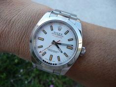 guys.... do you wear white dial watches? - Page 2 - Rolex Forums - Rolex Watch Forum