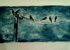 RAIN - Painting by Safina Anjum in my painting at touchtalent