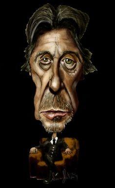 Al Pacino - CARICATURE: http://dunway.com/