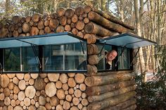 Log House as Garden Home Office Cabin, outside bar, man cave, you name it