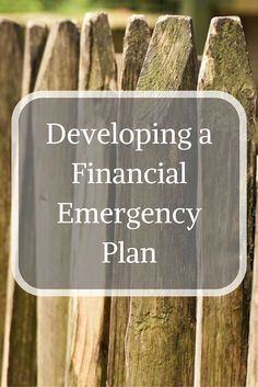 An emergency fund might not be enough, review your circumstances and start to outline an Emergency Plan that you can put into action. via @Apathy Ends | Personal Finance