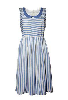 Rules by Mary Annie Dress Stripe Sky. Price: 135 €. Available at www.seriebshop.com