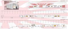 Kochuu - espacio expositivo - secciones Space, Architecture