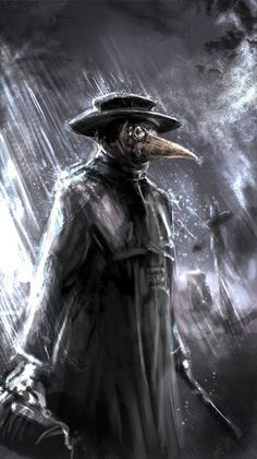obscurevendetta:  Plague Doctor by Mitchellnolte