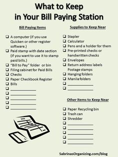 What to Keep in Your Bill Paying Station is part of Bill Organization Station - Here are the list of items you need to keep in your bill paying station in our post What to keep in your bill paying station Financial Organization, Organizing Paperwork, Organization Station, Home Office Organization, Paper Organization, Bill Organization Binders, Organising, Keep On, Financial Tips
