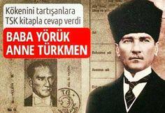 """""""ATATÜRK'ÜN SOYU"""" AÇIKLANDI...! -Baba tarafından dedesi Kızıl Hafız Ahmet Efendi 14-15. yüzyıllarda Karaman'dan Makedonya'ya, Kocacık'a yerleşmiş Kızıl Oğuz (Kocacık) Yörüklerindendir. -Annesi Zübeyde Hanım ise Selanik yakınlarındaki Langaza kasabasına yerleşmiş köklü bir Türk ailesinin kızıdır."""