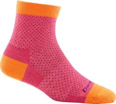 Dots, dots, dots, dots, dots, and then a couple more dots. Add some dots to ultra soft, fine gauge Merino Wool and you've got the perfect sock right on the dot.