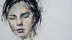 peinture acrylique Hervé Augoyat Lyon