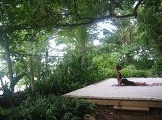 Create a zen space in your back yard for morning for How to build an outdoor yoga platform