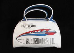 vintage Disneyland monorail bag