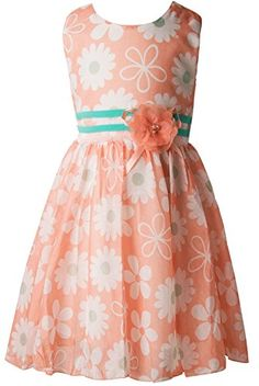 Ipuang Little Fashion Girls Flower Dress 2t Orange * Read more reviews of the product by visiting the link on the image.